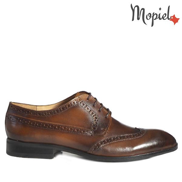 - Pantofi barbati din piele 13603 Maro Tabac Dirk - Colectia Artizan