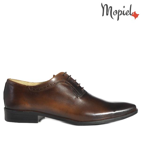- Pantofi barbati din piele 14701 Maro Ape TDM Fabio - Colectia Artizan