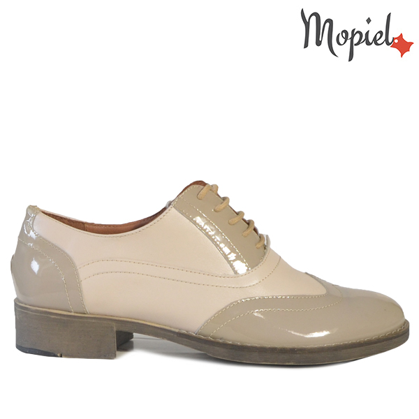 - Pantofi dama din piele naturala 23521 Bej Betina - REDUCERI FINALE DE VARA!