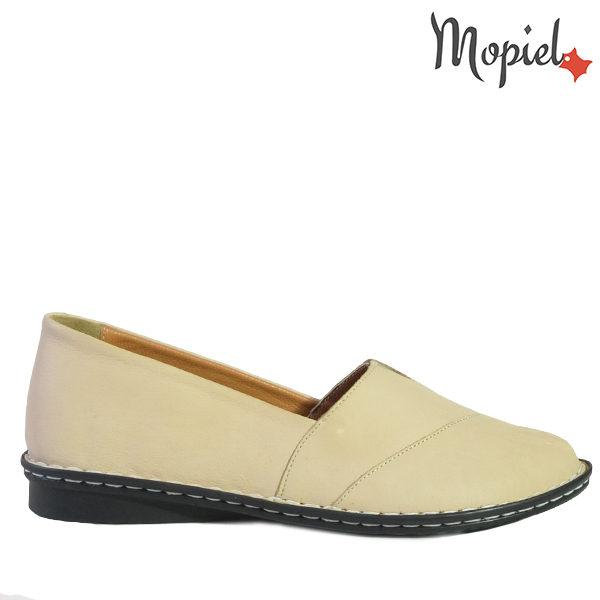 - Pantofi dama din piele naturala 230310bejSandra 600x600 - PANTOFI DAMA