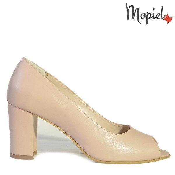 - Pantofi dama din piele naturala 241004 Bej Aurora 2 600x600 - Pantofi eleganti dama
