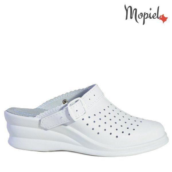 - Papuci dama ortopedici 261910 51 07 03 Alb Lydia 600x600 - Cand stai mai mult acasa… papuci din piele!