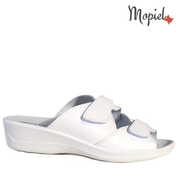 - Papuci dama ortopedici 261912 51 07 07 Alb Ofelia 600x600 - Cand stai mai mult acasa… papuci din piele!