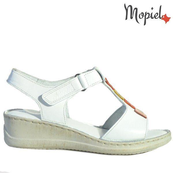 - Sandale dama din piele naturala 250216albVera 600x600 - Incaltamintea cu talpa confort