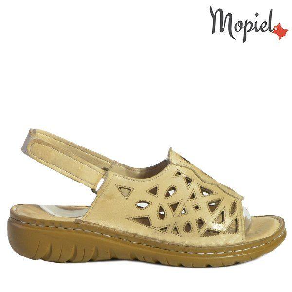 - Sandale dama din piele naturala 250306BejBlanca 600x600 - Incaltamintea cu talpa confort