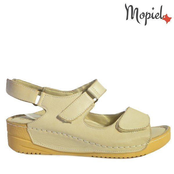 - Sandale dama din piele naturala 250312BejFabrizia 600x600 - Incaltamintea cu talpa confort