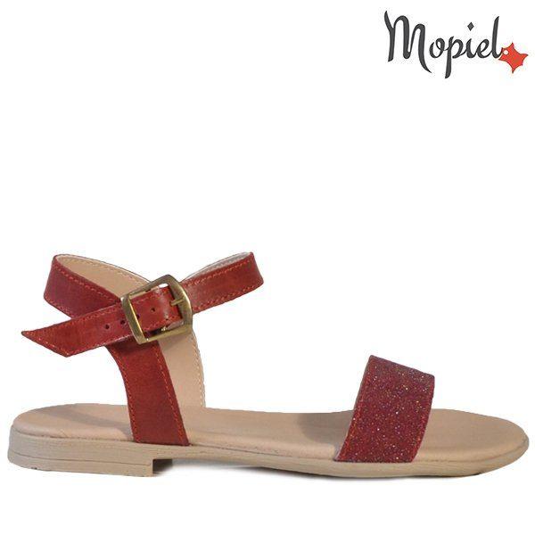 - Sandale dama din piele naturala 25623RosuSilvia incaltaminte mopiel 600x600 - Incaltamintea cu talpa confort