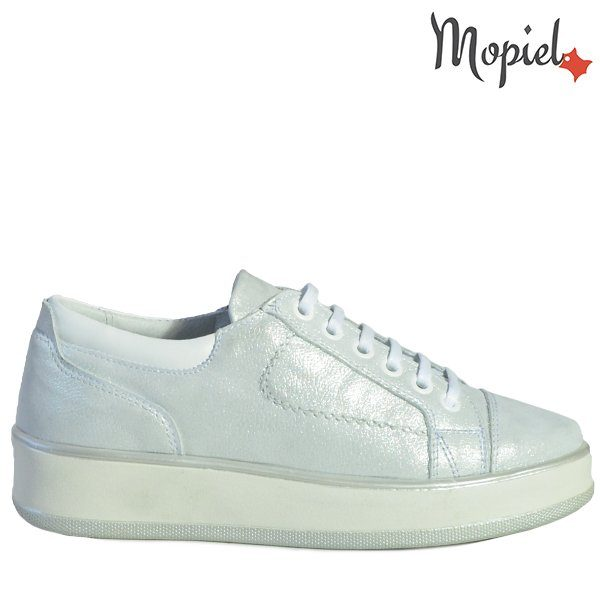 - Pantofi dama din piele naturala 102347 Argintiu Nely 600x600 - Pantofii Oxford