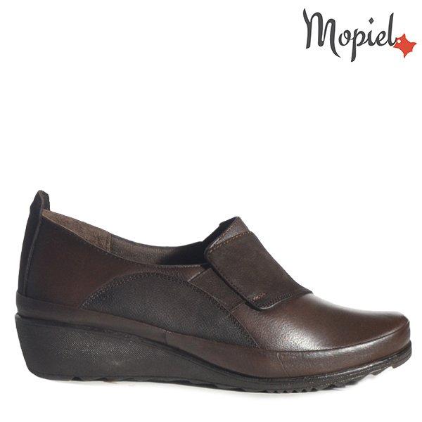 """- Pantofi dama din piele naturala 230318 2588 Maro Gratia - Picioarele tale iti vor spune"""" Multumesc"""" !"""