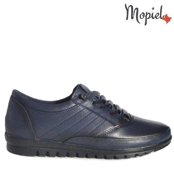 """- Pantofi dama din piele naturala 230319 104311 Blue Nora - Picioarele tale iti vor spune"""" Multumesc"""" !"""