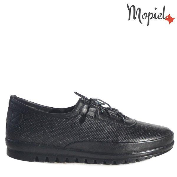 """- Pantofi dama din piele naturala 230320 1056 Negru Lanza - Picioarele tale iti vor spune"""" Multumesc"""" !"""