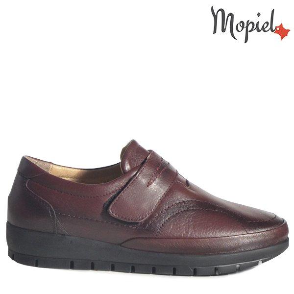 - Pantofi dama din piele naturala 238311 380 Bordo Helen - COLECTIE NOUA PANTOFI DAMA