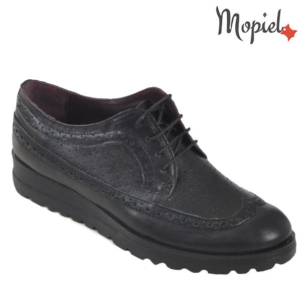 incaltaminte dama - Pantofi dama din piele naturala 23520 Negru Andra incaltaminte dama - Incaltaminte dama, colectia de primavara 2020