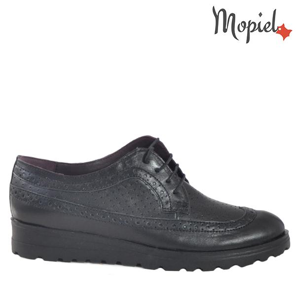 - Pantofi dama din piele naturala 23520 Negru Andra - PANTOFI DAMA
