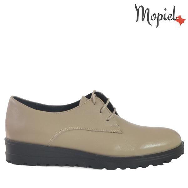 - Pantofi dama din piele naturala 23526 Bej Andra - TRANSPORT GRATUIT si REDUCERI!