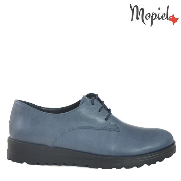 - Pantofi dama din piele naturala 23526 Blue Andra - TRANSPORT GRATUIT si REDUCERI!