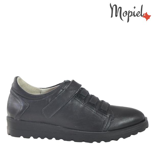 - Pantofi dama din piele naturala 23803 Negru Andra - PANTOFI DAMA