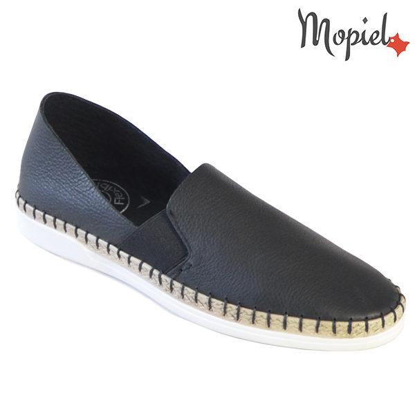 Pantofi dama, din piele naturala 23810 Negru Cindya incaltaminte dama