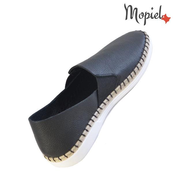 Pantofi dama, din piele naturala 23810 Negru Cindya incaltaminte ieftina