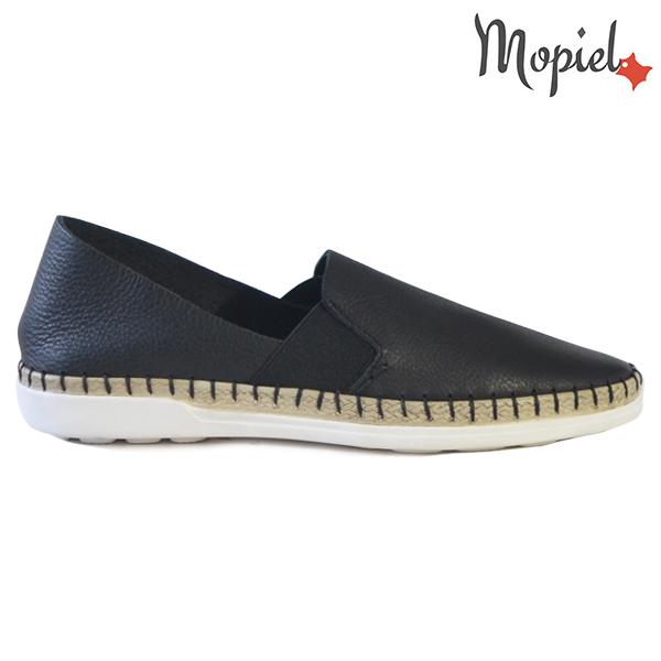 Pantofi dama, din piele naturala 23810 Negru Cindya