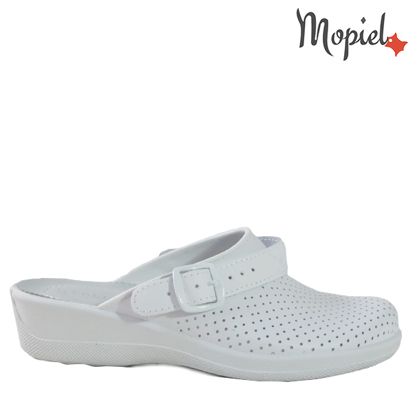 - Papuci medicinali din piele naturala 260903 74 04 Alb Narcisa - Cand stai mai mult acasa… papuci din piele!