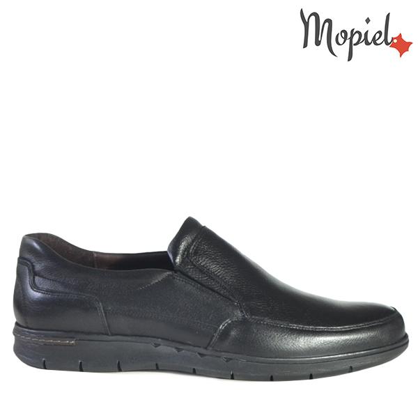 - Pantofi barbati din piele 130202 Alex Negru Antonio - Calitate si confort pentru fiecare pas!