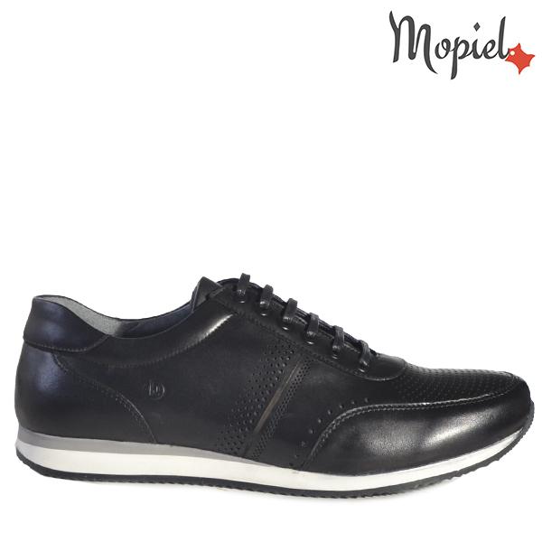 - Pantofi barbati din piele 130403 129 Negru Giuseppe - Calitate si confort pentru fiecare pas!