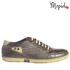 pantofi barbati - Pantofi barbati din piele 130404MaroClark 100x100 - Pantofi barbati, din piele 140406/Negru/Berry