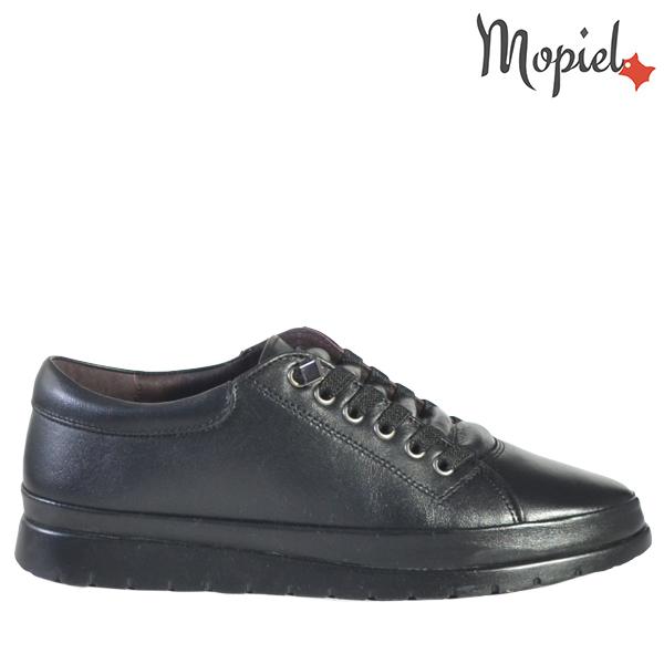 - Pantofi dama din piele naturala 2102NegruAura - PANTOFI DAMA