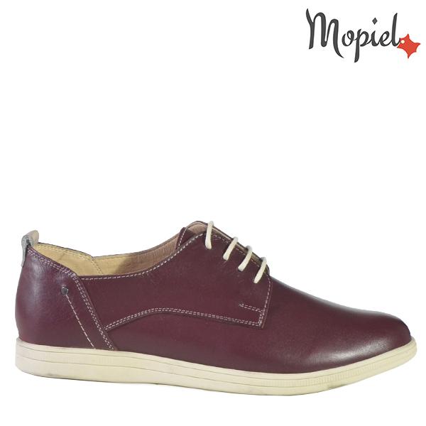 - Pantofi dama din piele naturala 231405 119422Visiniu Amaya - COLECTIE NOUA PANTOFI DAMA