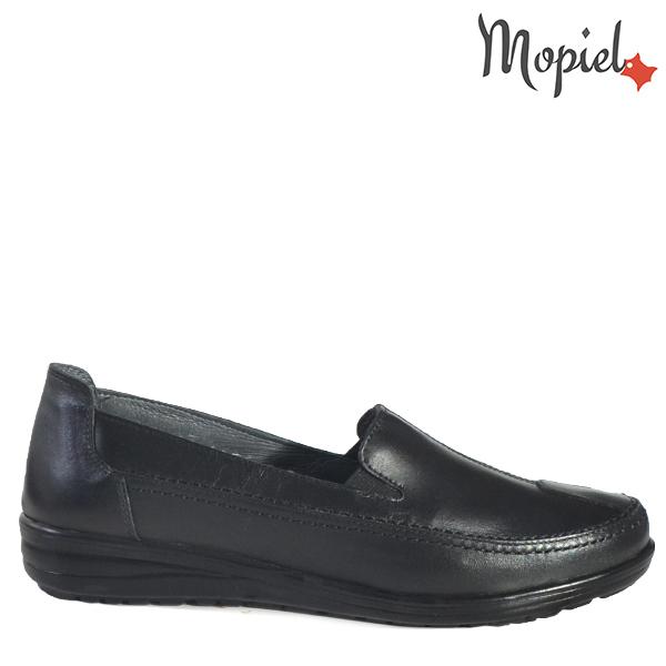 - Pantofi dama din piele naturala 231406118120NegruBianca - COLECTIE NOUA PANTOFI DAMA