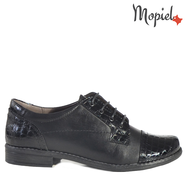 - Pantofi dama din piele naturala 23140714138Negru Rosalia - TRANSPORT GRATUIT si REDUCERI!