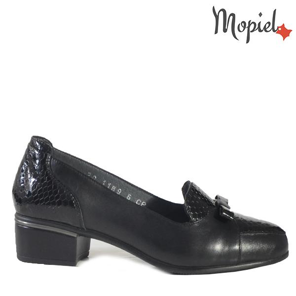 - Pantofi dama din piele naturala 241401118948NegruNatalia - COLECTIE NOUA PANTOFI DAMA