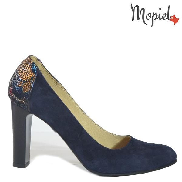 - Pantofi dama din piele naturala 24708 SP Blue Corsica - Pantofi eleganti la super pret!
