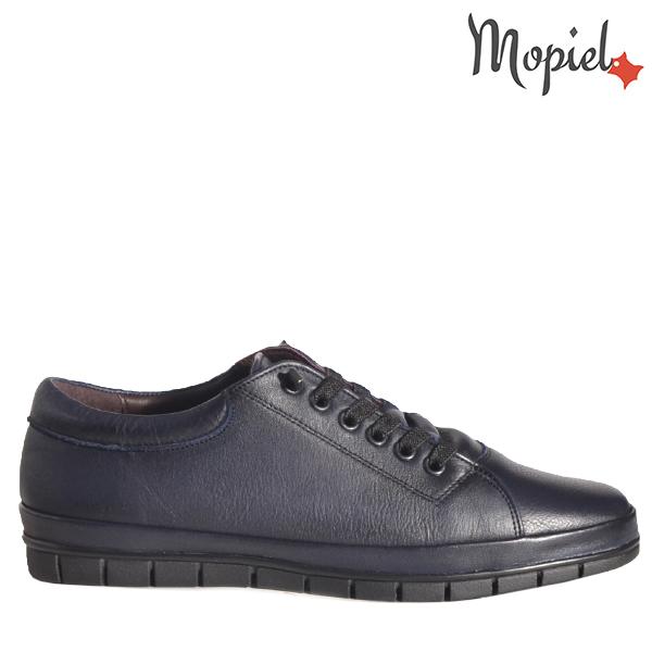 - Pantofi barbati din piele 130203 Rei Blue Casius - Mersul pe jos devine o placere