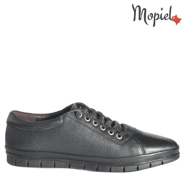 - Pantofi barbati din piele 130203 Rei Negru Casius - Mersul pe jos devine o placere