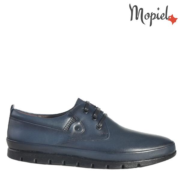 - Pantofi barbati din piele 130206 Alin Blue Ayan - Mersul pe jos devine o placere