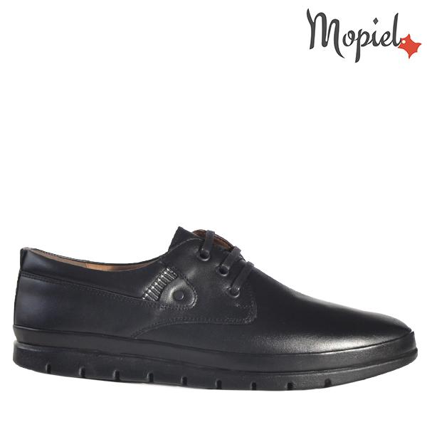 - Pantofi barbati din piele 130206 Alin Negru Ayan - Mersul pe jos devine o placere