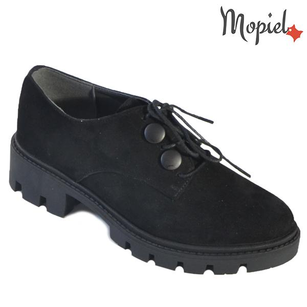- Pantofi dama din piele naturala 231501 N4 Negru Anina incaltaminte dama - Cu siguranța vei atrage atentia!