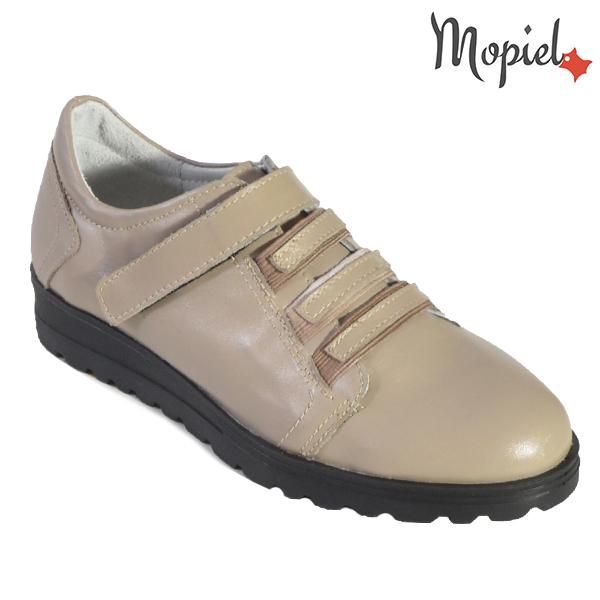 """- Pantofi dama din piele naturala 23808 Bej Andra incaltaminte dama - Picioarele tale iti vor spune"""" Multumesc"""" !"""