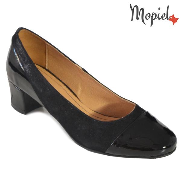 - Pantofi dama din piele naturala 241305 1404 Negru L Vanda incaltaminte dama - Promotiile saptamanii!