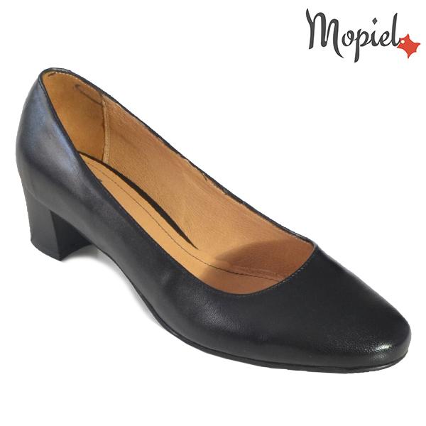 - Pantofi dama din piele naturala 241307 1400 Negru Leonor incaltaminte dama - Promotiile saptamanii!