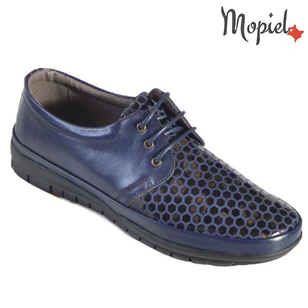Pantofi dama, din piele naturala 231414 16740 Blue Diana incaltaminte dama