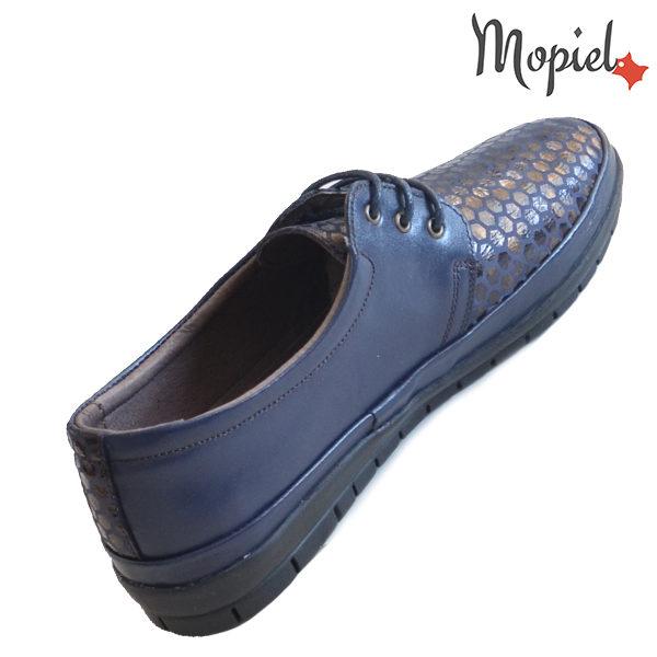 Pantofi dama, din piele naturala 231414 16740 Blue Diana incaltaminte piele