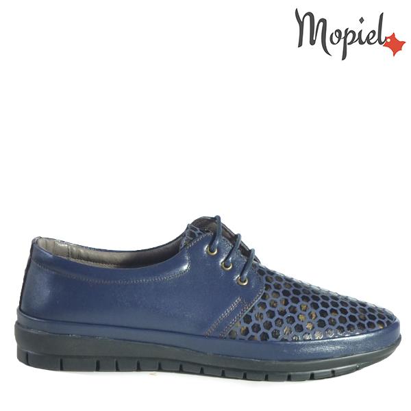 Pantofi dama, din piele naturala 231414 16740 Blue Diana