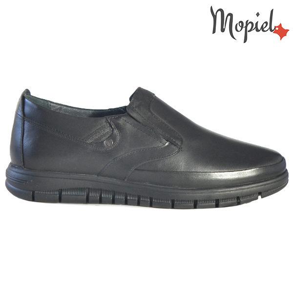 Pantofi barbati, din piele naturala 131121 Negru Brent