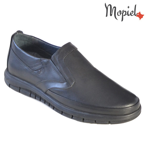 Pantofi barbati, din piele naturala 131121 Negru Brent incaltaminte barbati din piele