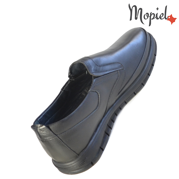 Pantofi barbati, din piele naturala 131121 Negru Brent incaltaminte fashion
