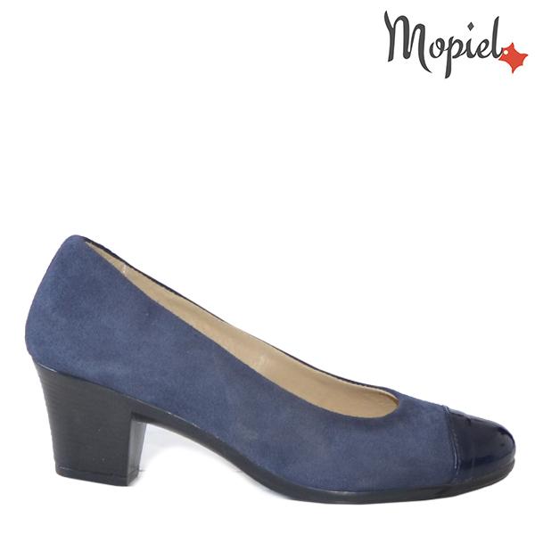 - Pantofi dama din piele naturala 24205 Blue Ambra - Inspiratia ta pentru un eveniment reusit!