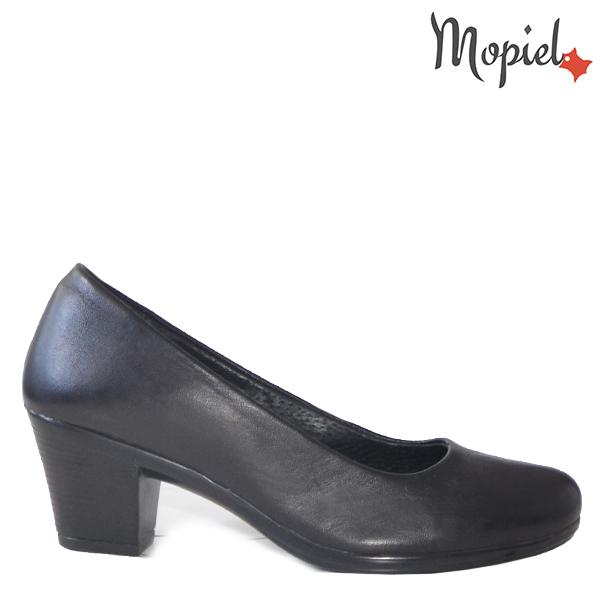 - Pantofi dama din piele naturala 24205 Negru Ambra - Inspiratia ta pentru un eveniment reusit!